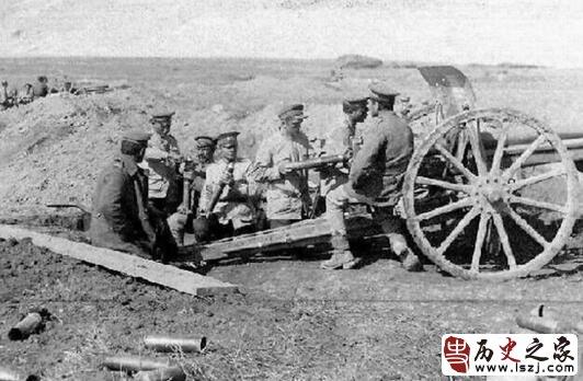 德国的大炮:克虏伯野炮 在台儿庄大战一战打垮日本鬼子炮兵队!