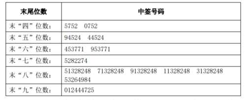 惠威科技网上发行中签号出炉 共37404个