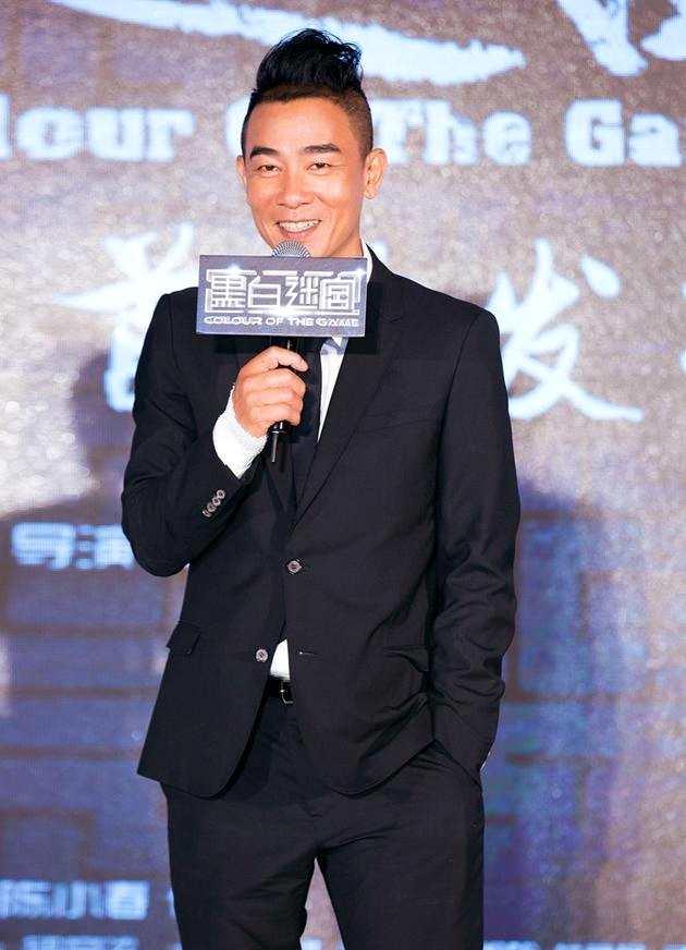陈小春:自己在外面演老大 家里儿子才是