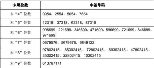台华新材网上发行中签号出炉 共60840个