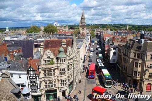 牛津城创建的传说 亨利二世和牛津的因缘