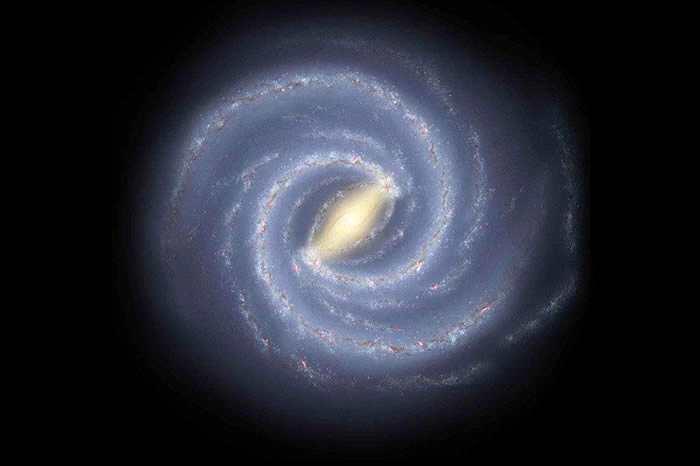 天文学家成功地描绘银河系远侧的一个旋臂