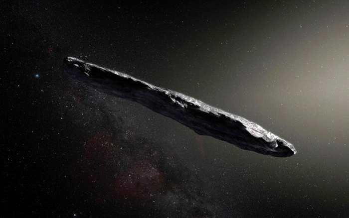 首个被证实由太阳系外飞来的小行星Oumua