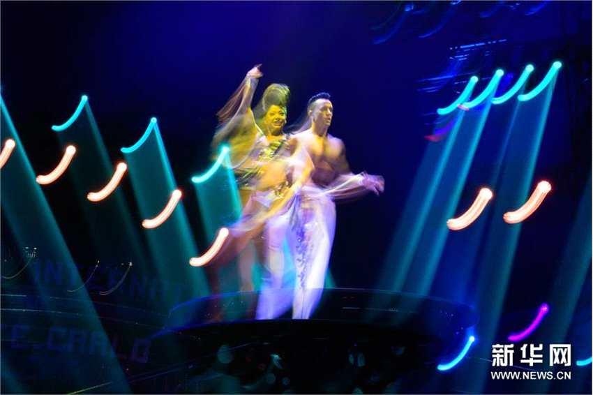第42届蒙特卡洛马戏节在摩纳哥开幕