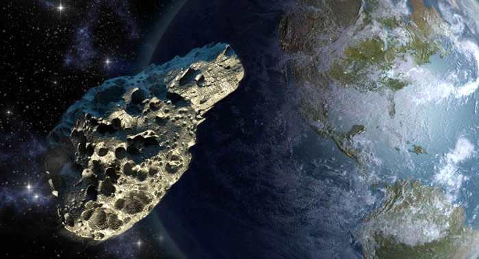 """一颗大小与车里雅宾斯克陨石相似的小行星""""2018 CB""""掠过地球"""