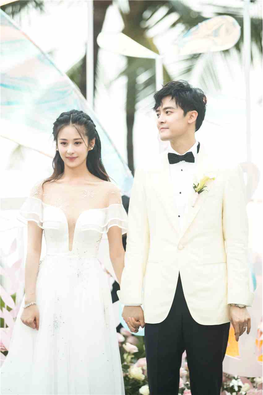 付辛博颖儿巴厘岛婚礼浪漫唯美 深情誓言感动全场