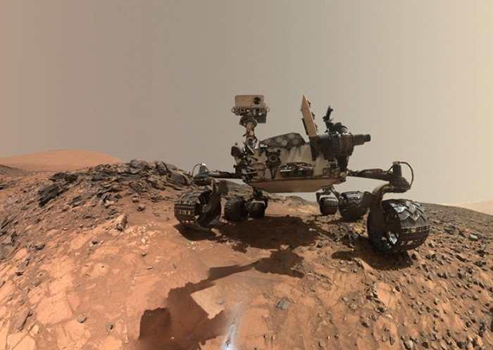 好奇号于火星地表,发现了目前最复杂的有机物。