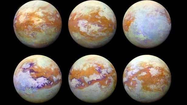 太阳系中最有趣的天体之一 :土卫六!