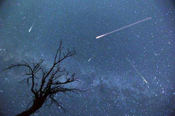 一场无声的演出:流星来到地面上已无声了