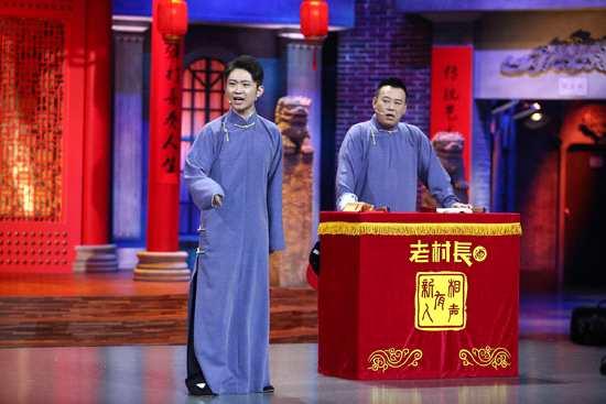 """《相声有新人》金霏陈曦""""逗捧互换""""鏖战劲敌"""