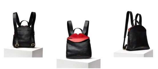 LULU GUINNESS Mini背包 书卷气是永不过时的女人味