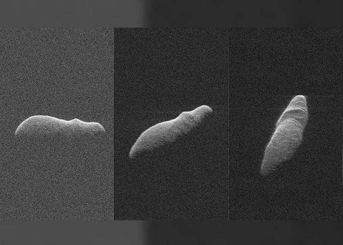 """400年一遇!外形有如河马的小行星""""2003 SD220""""掠过地球边缘"""
