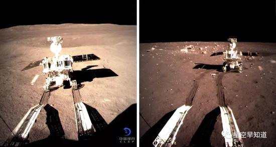 月亮上的7辆车
