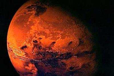 火星比地球要冷得多