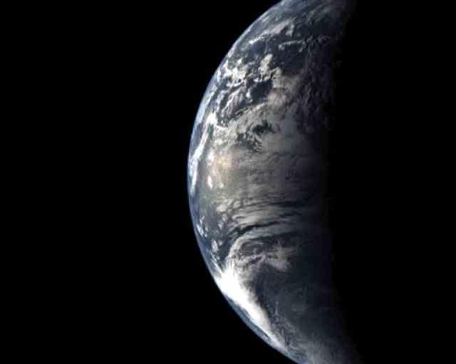 我们脚下的行星在宇宙中永不停息地运动