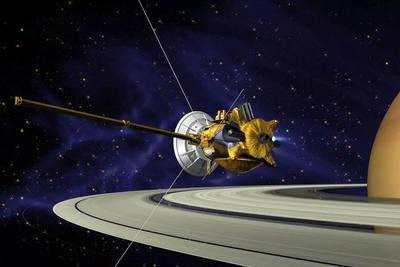 """美国的""""旅行者2号""""探测器曾在1989年拜访过海王星"""