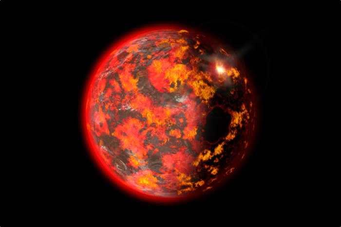 """德国地球物理学家称地球在发展初期曾是一个""""地狱般的地方"""""""