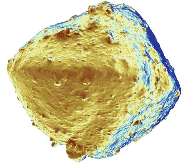 隼鸟2号的可见光相机和近红外光谱仪观测证实,龙宫确实很缺少水分。