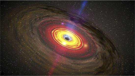 自上世纪中期开始,人们对黑洞的探秘就从未停