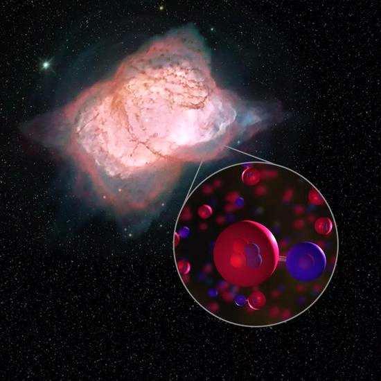 """在宇宙大爆炸早期,存在一个""""原初核合成""""阶段。"""