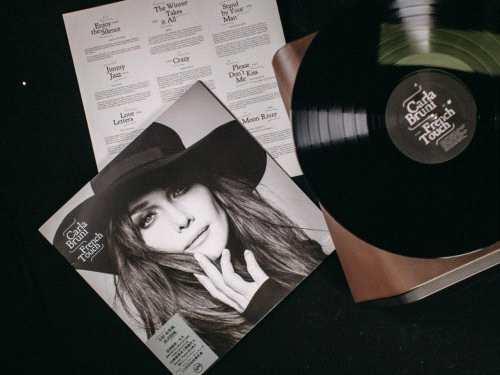 嘿哟音乐独家发行第一张国际艺人中国制造黑胶专辑Carla Bruni《French Touch》