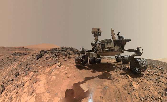 好奇号发现火星大气中有异常多的甲烷 或