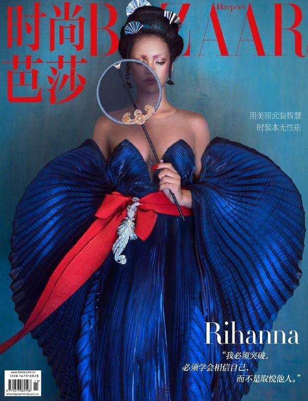 蕾哈娜唐朝造型怎么回事?蕾哈娜唐朝造型照片无敌了