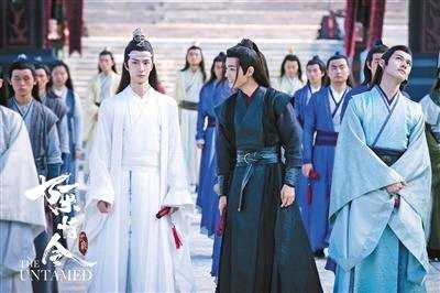 """《陈情令》王一博、肖战演""""忘羡""""压力多过兴奋"""