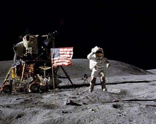 世界主要大国纷纷曝光了进军月球的大计划。