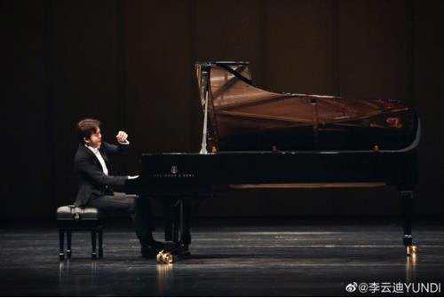 同时代的伟大钢琴家,李云迪忙于演奏 朗朗忙于结婚 。
