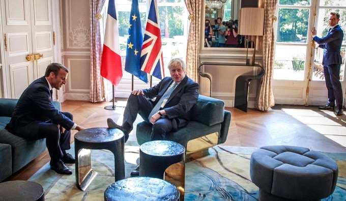 約翰遜先后會晤德法領導人后英鎊錄得三個月來最大單日漲幅
