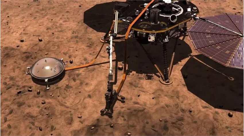 """火星""""鼹鼠""""直接弹出!专家坚信挡道的不是岩石,到底是什么原因?"""