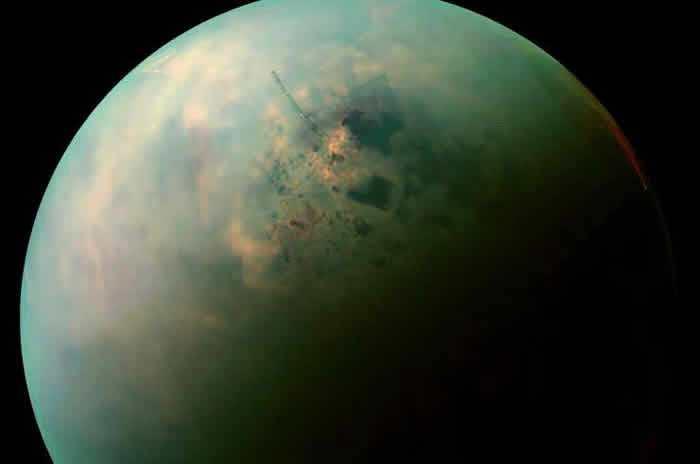 土卫六泰坦上拥有大片平原以及由液态甲烷