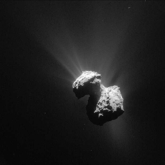"""""""67P/楚留莫夫-格拉希门克""""彗星成分中"""