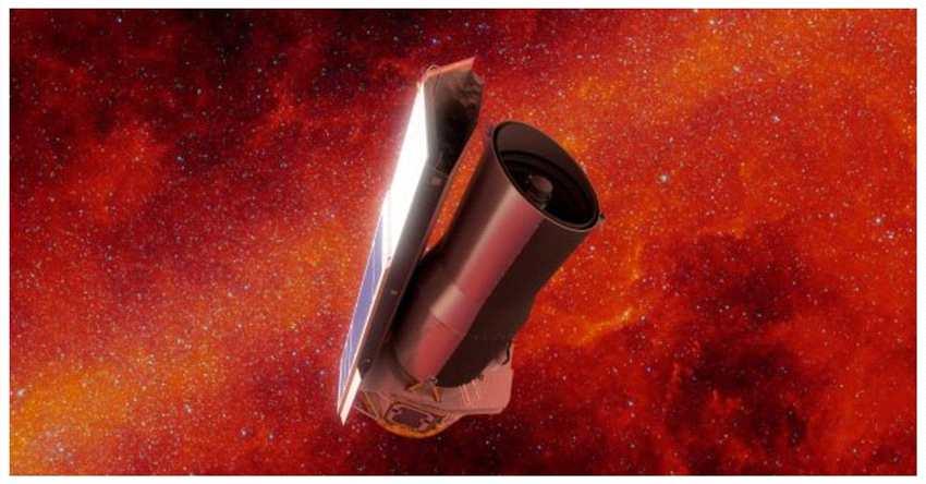 斯皮策的数据中,科学家们发现了土星的一个额外的环,它有着巨大的周长和微小的粒子。