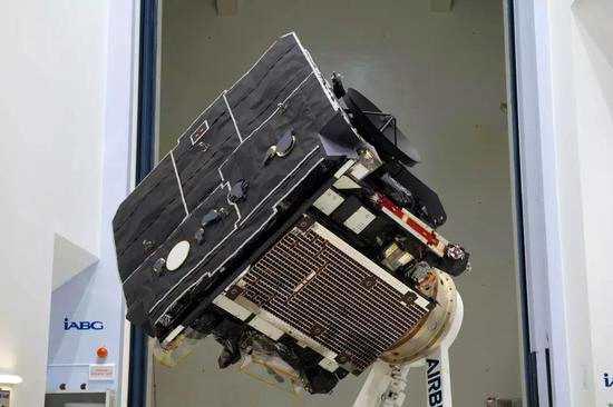 太阳轨道飞行器的隔热罩。