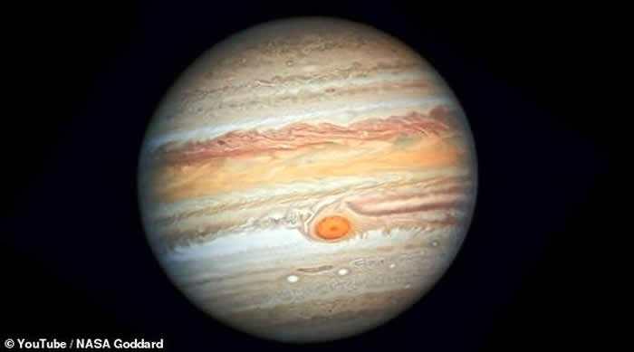 """""""朱诺号""""探测器准确测量出木星大气层中水的总量 木星可能拥有太阳系中最早形成的水"""