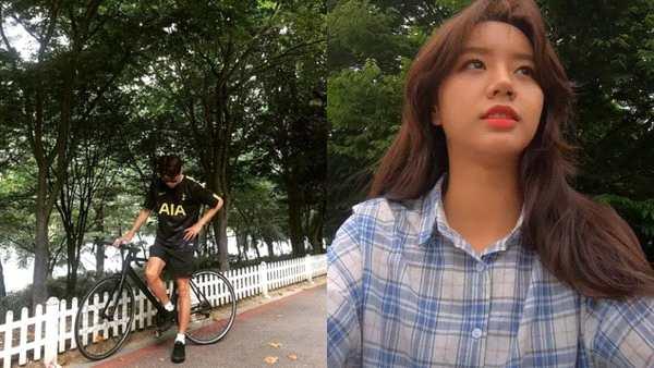 柳俊烈惠利骑脚踏车约会 目击者:天气热也很甜