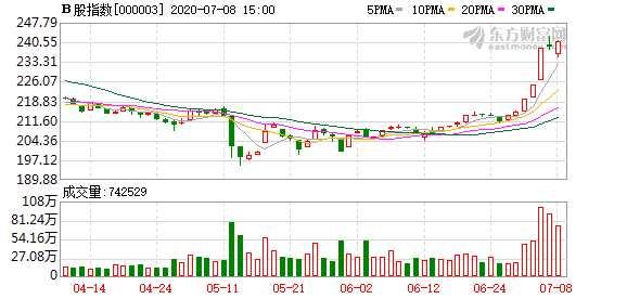 今日沪深B股市场收盘:B股指数上涨0.89% 成份B指跌0.03%