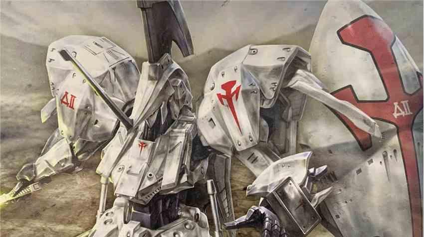 岛国高玩展示最新作品《五星物语》最强雷德幻象胸像酷炫极致
