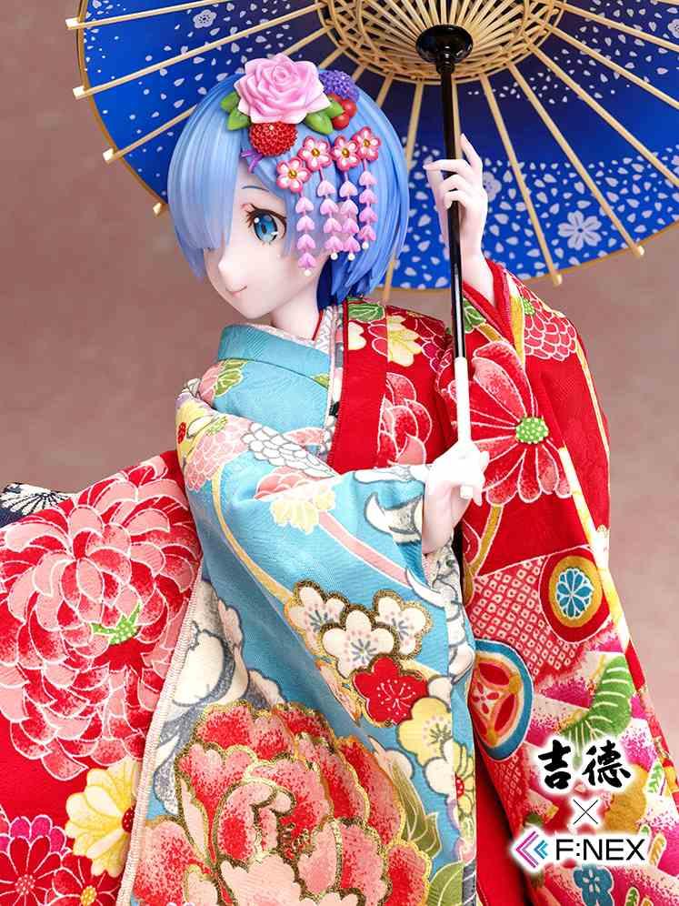 日本300年历史娃娃匠人打造美丽雷姆 精致卓越超凡