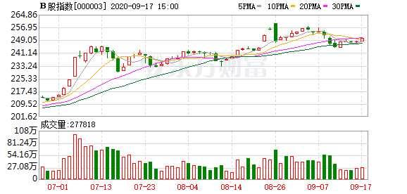 今日沪深B股市场收盘:B股指数上涨0.74% 成份B指涨1.27%