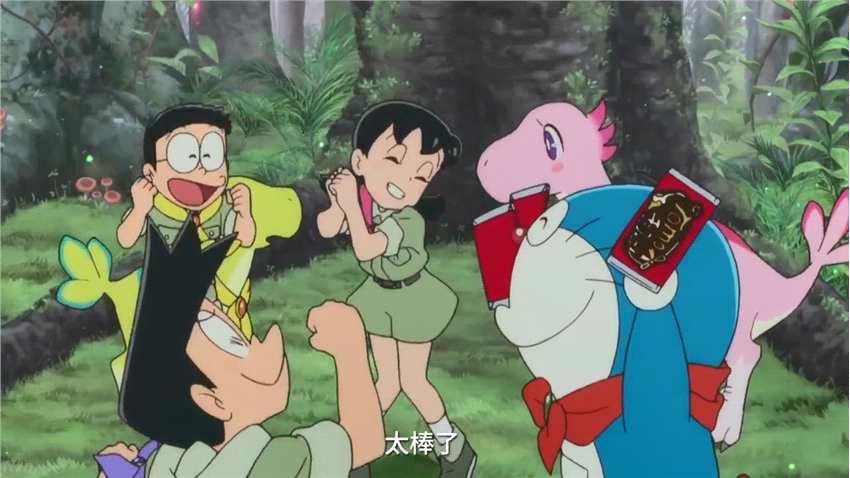 《哆啦A梦:大雄的新恐龙》确认引进内地 中文预告发布