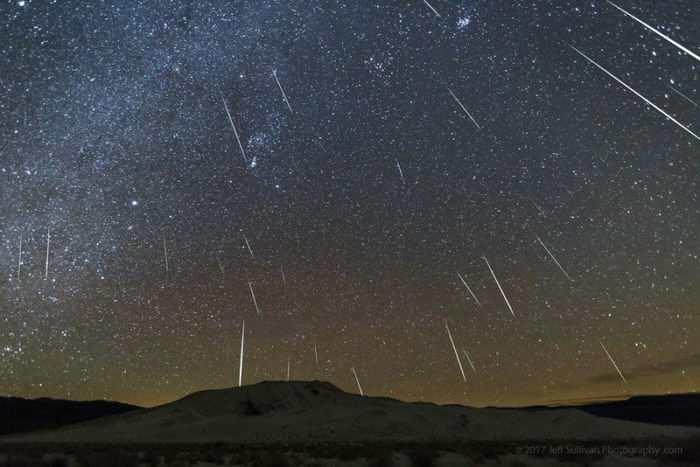 2020年12月份天文现象概况:双子座流星雨