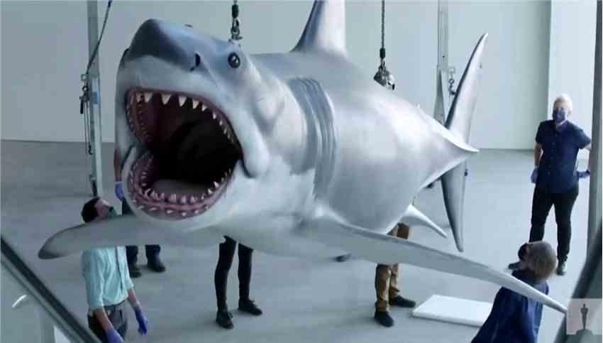 斯皮尔伯格名作《大白鲨》原型模型重见天日 进驻奥斯卡博物馆