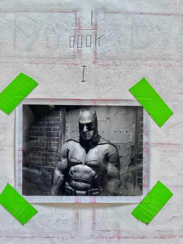 《【杏鑫登陆注册】扎导晒《正义联盟》导剪版蝙蝠侠新照》