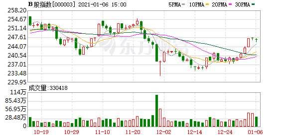 滬深B股市場收盤:B股指數下跌0.22% 成份B指下跌0.80%