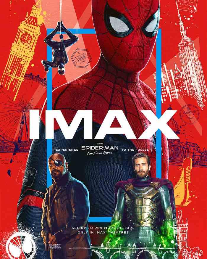 《蜘蛛侠:英雄远征》IMAX观影会在京举