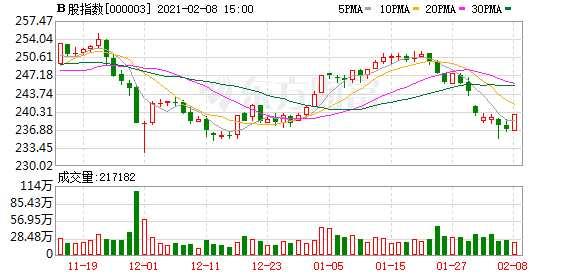 沪深B股市场收盘:B股指数上涨1.19% 成份B指上涨1.03%