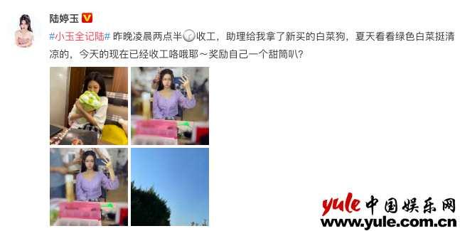 摩臣2平台陆婷玉独家演员日记 小花的日常都在做什么?